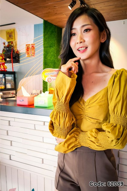 62089 - Charly Puff Sleeve Top