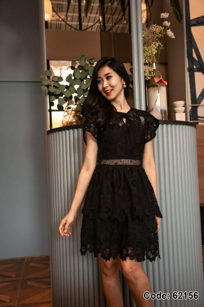 62156 – Reece Embroidery Lace Dress