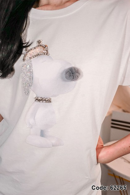 62265 - Snoopy Top