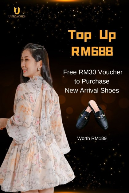 Top Up RM688 to join as VIP