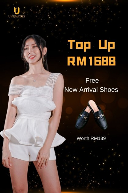 Top Up RM1688 to join as VIP